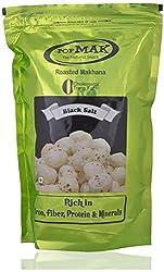POP MAK Roasted Makhana - Black Salt, 90 grams