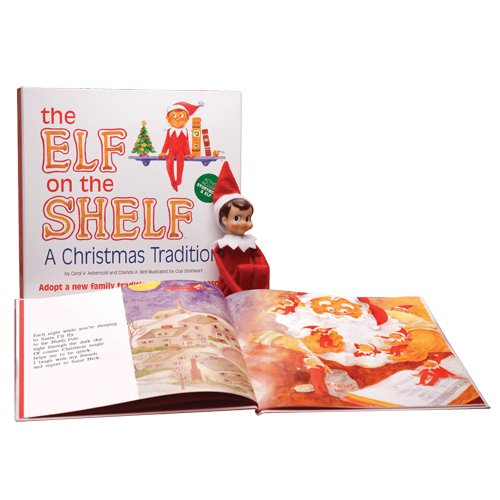 The Elf on the Shelf: A Christmas Tradition Elf on the Shelf Gift Set
