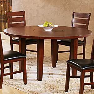 Homelegance ameillia 60 inch round dining for Dining room tables on amazon