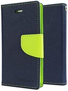 Generic Goospery Mercury Diary Flip Cover for Sony Xperia T2 Ultra (Blue)