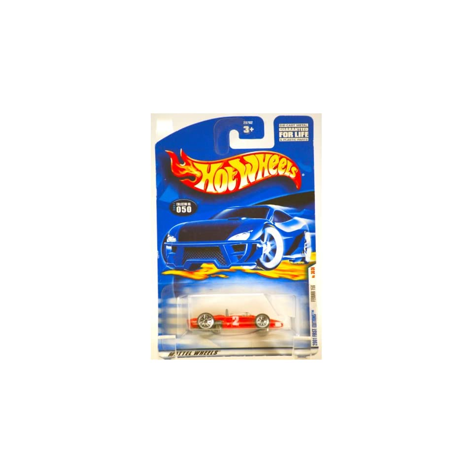 2001   Mattel / Hot Wheels   Ferrari 156   Red Racing Car   First Editions Series #30 of 36 Cars   Collector #050   MOC   Limited Edition   Collectible Toys & Games