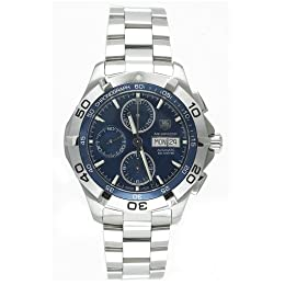 TAG Heuer Men s CAF2012 BA0815 Aquaracer Automatic Chronograph Stainless Steel Watch