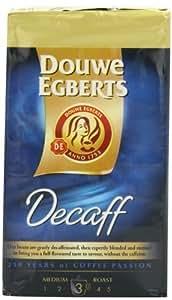 Douwe Egberts Decaf Ground Coffee, Medium Roast, 250-Gram Package (Pack of 3)