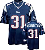 Brandon Meriweather Jersey: Reebok Navy Replica #31 New England Patriots Jersey