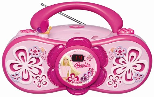 Barbie RCD 150 BB Stereo Radio (CD-Player, UKW-/MW-Tuner)