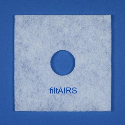 5 Ersatz-Luftfilter Filter Ersatzfilter Staubfilter Luftfilter für Lüfter Helios ELF/ELSN 00939 ELS Ventilator-Einheiten