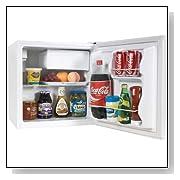 Haier HCR17W 1.7 Cubic Feet Refrigerator Freezer