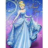 Disney's Cinderella Sparkle Thank You Notes