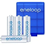 Sanyo Eneloop AA 4 Pack Batteries (HR-3UTGA) - rechargeable up to 1500 times