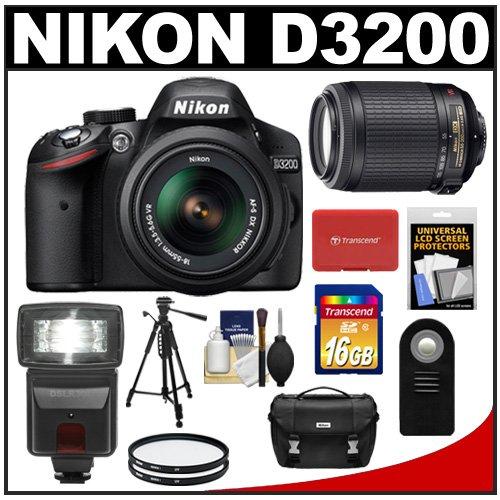 Nikon D3200 Digital SLR Camera & 18-55mm G VR