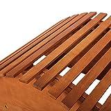 Sonnenliege-Schwungliege-Apollon-aus-Holz-perfekt-fr-Balkon-oder-Garten-Akazienholz-Relaxliege-Gartenliege-vintage-retro-zwei-Farben-Gitteroptik-Naturbraun