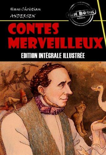 Couverture du livre Contes merveilleux (avec illustrations): Edition intégrale