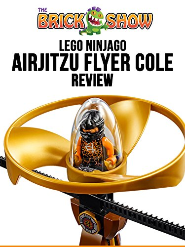 LEGO Ninjago Airjitzu Flyer Cole Review 70741