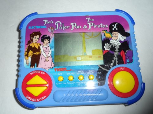 Tiger Electronic Fox's Peter Pan & The Pirates LCD Handheld Game 1991