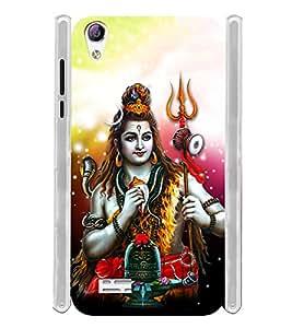 Lord Bole Baba Shiv Soft Silicon Rubberized Back Case Cover for Vivo Y31