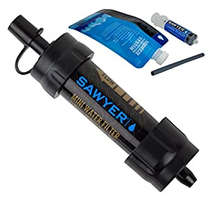 Sawyer Products SP105 Mini Water Filtration System, Single, Black