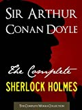 img - for THE COMPLETE SHERLOCK HOLMES and THE COMPLETE TALES OF TERROR AND MYSTERY (All Sherlock Holmes Stories and All 12 Tales of Mystery in a Single Volume!) ... Conan Doyle | The Complete Works Collection) book / textbook / text book