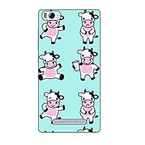 Happoz Designer Cute Cartoon Disney Hard Back Case for Xiaomi Mi4c D006