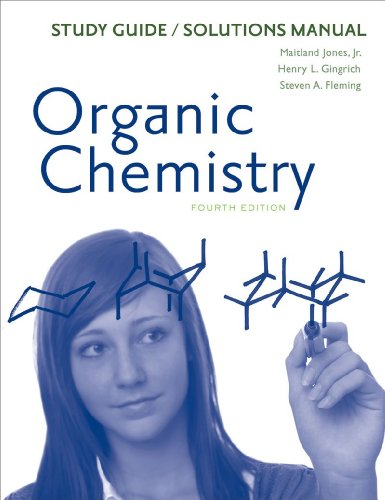 Study Guide/Solutions Manual: for Organic Chemistry,...