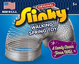 Unknown Original Slinky W/ Tension Springs - For Long Lasting Wiggly-Jiggly Fun - Made In Usa Jouets, Jeux, Enfant, Peu, Nourrisson