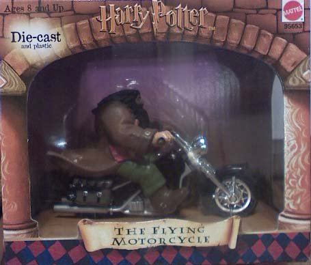 Buy Low Price Mattel Harry Potter the Flying Motorcycle Figure (B000WV1ZKQ)