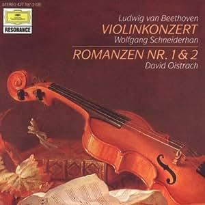 Violinkonzert Op. 61 / Violinromanzen1 und 2