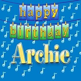 Happy Birthday Archie: Ingrid DuMosch: Amazon.co.uk: MP3 Downloads: www.amazon.co.uk/Happy-Birthday-Archie-Ingrid-DuMosch/dp/B001HOV0OS