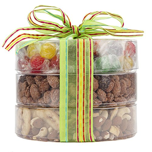 Nutty N' Sweet Candy and Trail Mix Assortment, Fruit and Nuts Gift, Perfect as a Thank You Gift or for Any Occasion, Small-Batch Kettle Roasted for Superior Freshness, Nuts Never Tasted This Good (Yogurt Covered Dried Cherries compare prices)