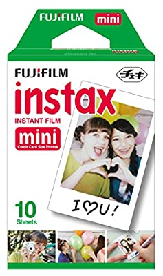 Fujifilm Instax Mini Film Single Pack 10 sheets per Pack