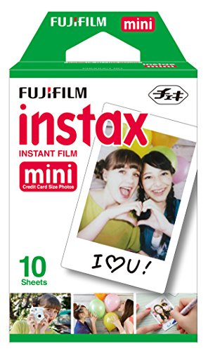 Fujifilm Instax Mini Film Single Pack 10 sheets per Pack