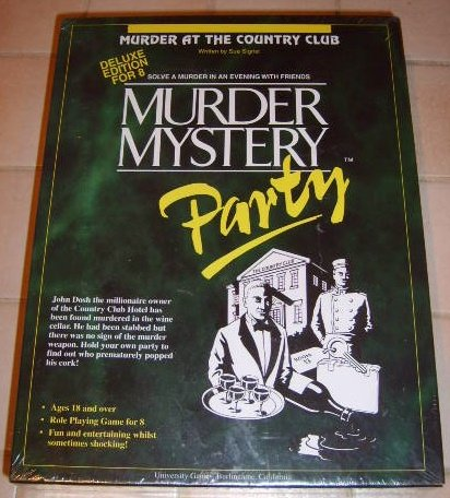 BV Leisure Murder Mystery Boxed Games
