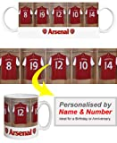 Arsenal Personalised Mug