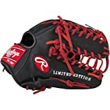 """Rawlings Sporting Goods G12BSLE-3/0 Gamer XLE 2016 Limited Edition Glove, 12"""", Right Hand Throw"""