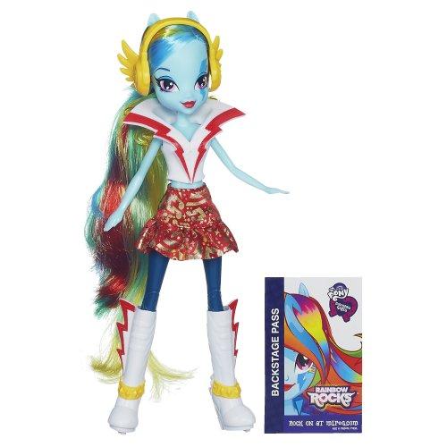 My Little Pony Equestria Girls Rainbow Dash Doll - Rainbow Rocks