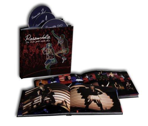 Rosenstolz - Die Suche Geht Weiter - Live (Ltd.Super Deluxe Hardcover Buch) [2CDs + DVD] - Zortam Music
