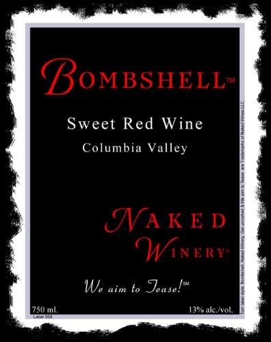 Nv Naked Winery Bombshell Sweet Red 750 Ml