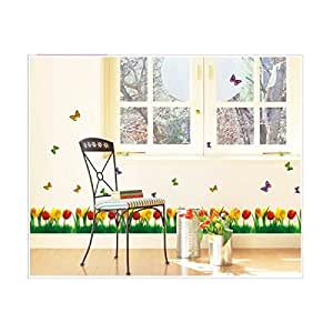 tulip border wall stickers - photo #42