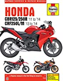 Haynes Garage Quality Repair Manual for Honda CBR125R, CBR250R & CRF250L/M (2011 - 2014) including an AA Microfibre Mitt