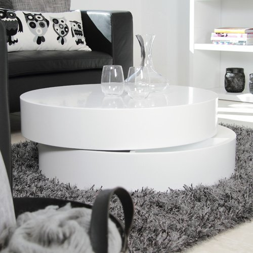 Wohnzimmer Ideen Testen: Design Couchtisch POLL, Holz ...