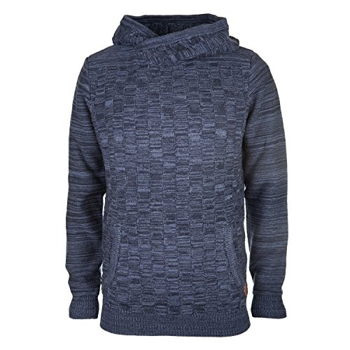 khujo -  Felpa con cappuccio  - Felpa  - Basic - Maniche lunghe - Uomo Blue/Ink X-Large