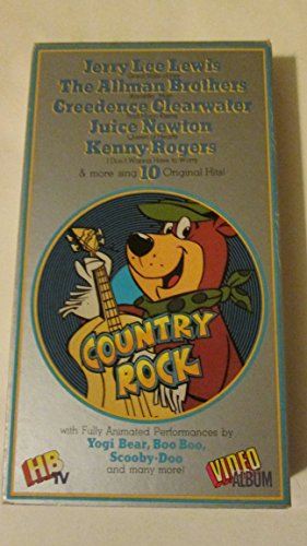Country Rock: animated performance by Yogi Bear, Scooby-Doo, and others (Country Bears Vhs compare prices)