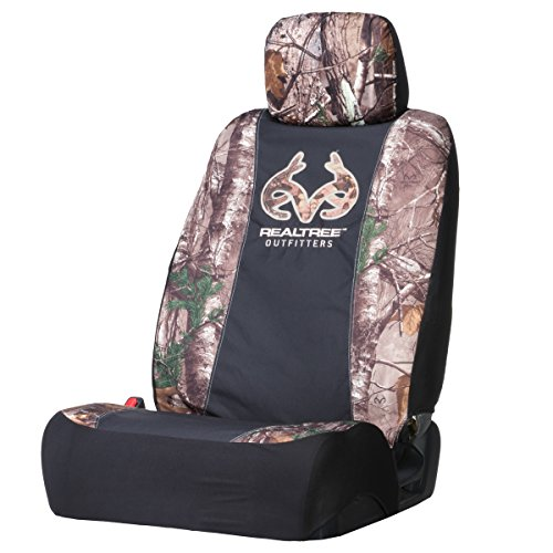 Realtree Low-Back Seat Cover (Realtree Xtra Camo, Heavy Polyester Fabric, Sold Individually) (Brown Girl Seat Covers compare prices)
