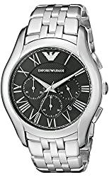 Emporio Armani Analog Black Dial Mens Watch - AR1786