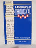 img - for A Dictionary of Theological Terms, Written in Easier English, Grace Publications 1st Printing 1996 book / textbook / text book