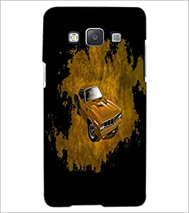 PrintDhaba Car D-4402 Back Case Cover for SAMSUNG GALAXY A5 (Multi-Coloured)