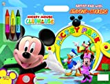 Dalmatian Press Mickey Mouse Clubhouse: Artist Pad with Crayons and Stickers