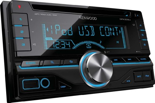 Kenwood Double DIN CD/USB AUX Receiver with Direct Control for iPod/iPhone and Variable Colour Illumination Black Friday & Cyber Monday 2014