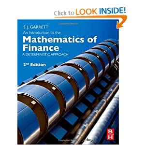 An Introduction to the Mathematics of Finance, Second Edition: A Deterministic Approach book