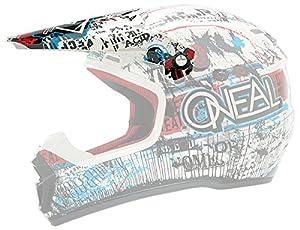 O'Neal 5 Series Visor for Blue/Red Acid Helmet