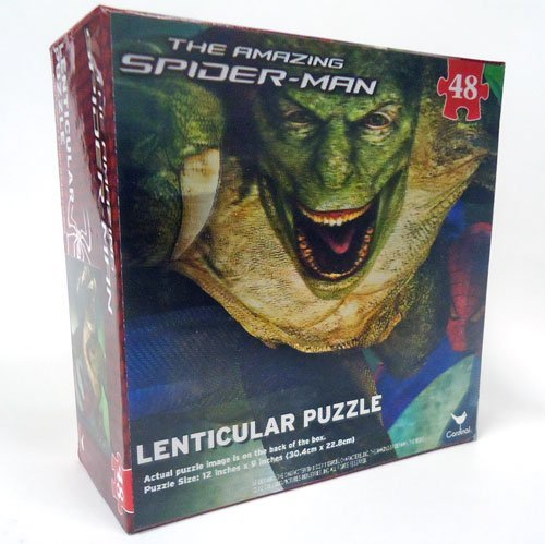 The Amazing Spider-Man Lenticular 48-Piece Puzzle (Spiderman & Lizard)